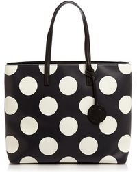 Boutique Moschino - Large Polka Dot Tote - Lyst