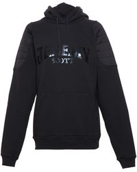 Jeremy Scott Airtex Detail Hooded Sweatshirt - Lyst