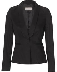 Stefanel Shawl Collar Jacket - Lyst