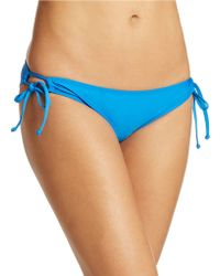 Splendid Side Tie Hipster Bikini Bottom - Lyst