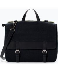 Zara Messenger Bag - Lyst