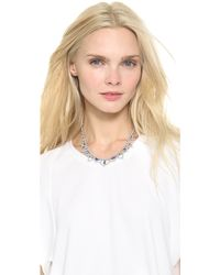 Tom Binns - Melody Of Life Cupchain Necklace Sapphire - Lyst