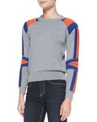 Marc By Marc Jacobs Grady Wool Crewneck Sweater - Lyst