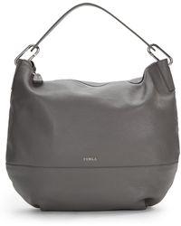 Furla Manola Leather Hobo Bag - Lyst