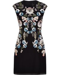 Needle & Thread | Oriental Garden Embellished Dress | Lyst