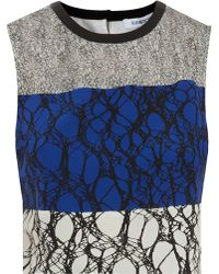 Elizabeth And James Nathena Print Top - Lyst