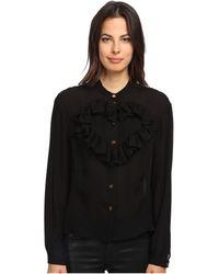 Vivienne Westwood Red Label Silk Blouse W Heart - Lyst