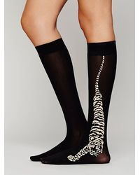 Free People Tigris Mid Sock - Lyst