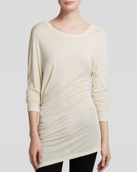 Guess Top - Long Sleeve Asymmetric - Lyst