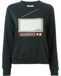 Carven | Tv Patch Sweatshirt | Lyst