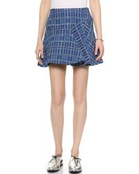 Paul & Joe Sister Tourelle Skirt - Blue - Lyst