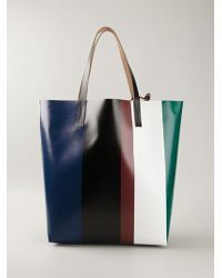 Marni Printed Shopper Tote - Lyst