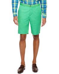 Hugo Boss Clydew  Regular Fit Stretch Cotton Shorts - Lyst