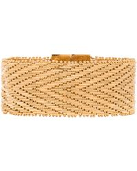 Givenchy Gold Chain Bracelet - Lyst