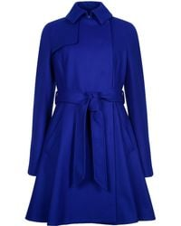 Ted Baker - Albine Wool Trench Coat - Lyst