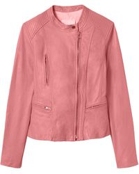 Rebecca Taylor | Washed Leather Jacket | Lyst