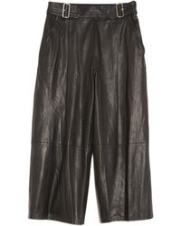 A.L.C. | Tabor Leather Pant | Lyst