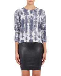 Lucien Pellat Finet - Studded Tie-dye-effect Sweater - Lyst