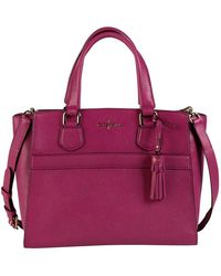 Cole Haan Leather Small Satchel - Lyst