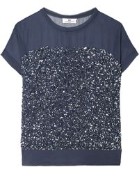 Day Birger Et Mikkelsen Rain Sequin Chiffon Top - Lyst