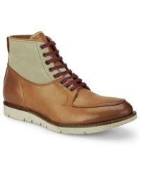 BOSS Orange - Mens Amfers Leather Boots - Lyst