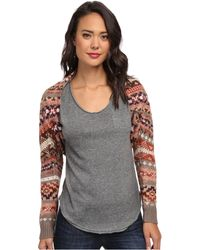 Free People Carnival Shrug Sweater - Lyst