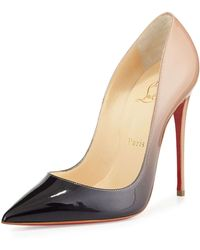 Christian Louboutin So Kate Degrade Red Sole Pump multicolor - Lyst