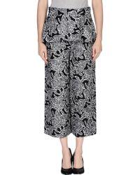 Balenciaga Gray Casual Trouser - Lyst