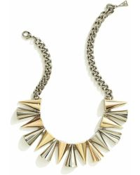 Sarah Magid Mixed Metal Cone Necklace - Lyst