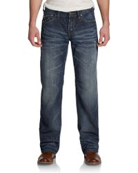 Affliction Blake Cathedral Distressed Jeansslimfit - Lyst