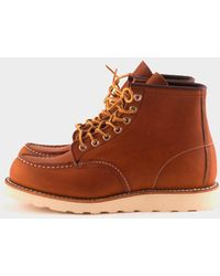 Red Wing - Moc Toe Classic 875 Boot Oro Legacy - Lyst