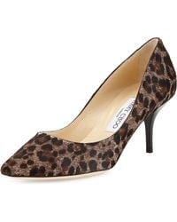 Jimmy Choo Match Calf Hair Pump - Lyst