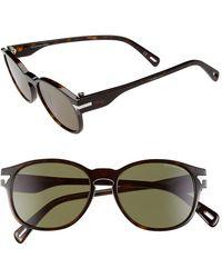 G-Star RAW Men'S 'Gs606Sm' 51Mm Sunglasses - Havana - Lyst