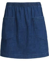 A.P.C. Denim Skirt - Lyst