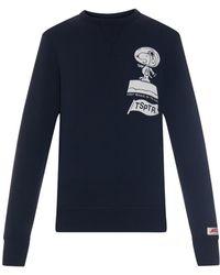 Tsptr - Beagle Has Landed Printed Sweatshirt - Lyst