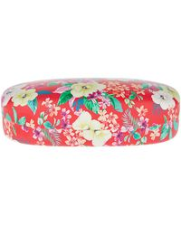 Accessorize - Rosie Red Floral Hard Sunglasses Case - Lyst