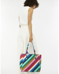 Accessorize - Reversible Rainbow Tote Bag - Lyst