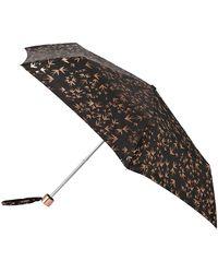 Accessorize - Rose Gold Swallow Superslim Umbrella - Lyst