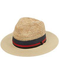 Accessorize - Seashells Francoise Fedora Hat - Lyst