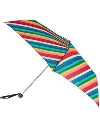 Accessorize - Rainbow Stripe Superslim Umbrella - Lyst