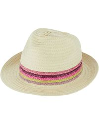 Accessorize - Rainbow Braid Trilby Hat - Lyst