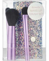 Accessorize - Set Of Mini Makeup Brushes - Lyst