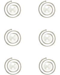 Accessorize - 6x Pearl Hair Swirls - Lyst