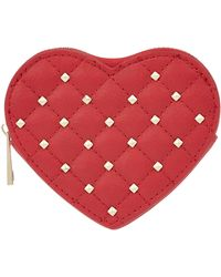 Accessorize - Studded Heart Coin Purse - Lyst