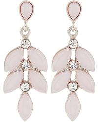 Accessorize - Poppy Drop Earrings - Lyst