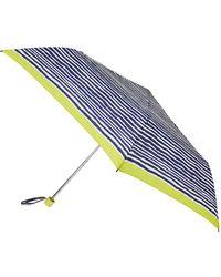 Accessorize - Navy Stripe Superslim Umbrella - Lyst