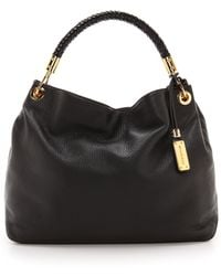 Michael Kors Collection Skorpios Large Shoulder Bag Black - Lyst