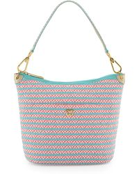 Eric Javits Dame Two-Tone Bucket Shoulder Bag - Lyst
