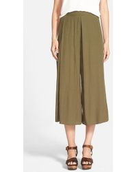 The Hanger - Pleated Gaucho Pants - Lyst