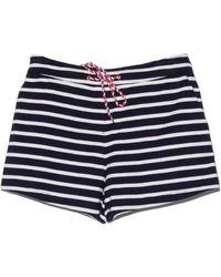 Petit Bateau - Abysse Stripe Shorts - Lyst